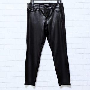 New Level 99 Black Coated Skinny Jeans 31/12
